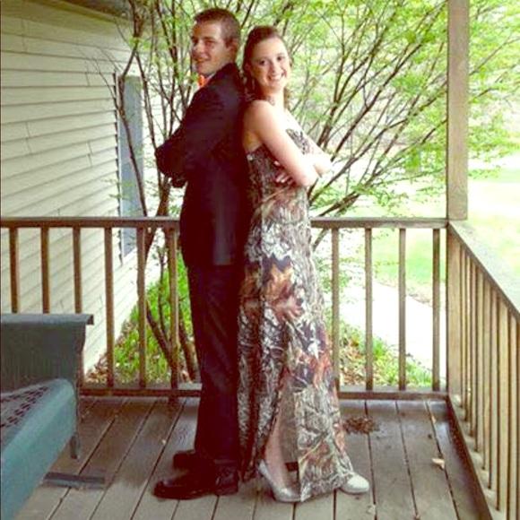 e82825b339b75 Dresses | Camo Prom Dress | Poshmark